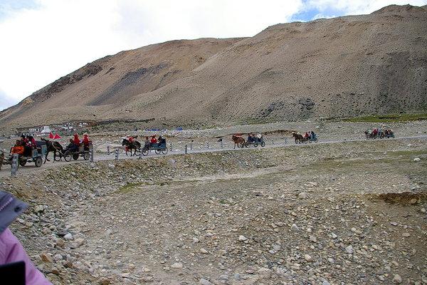 往珠峰大本營