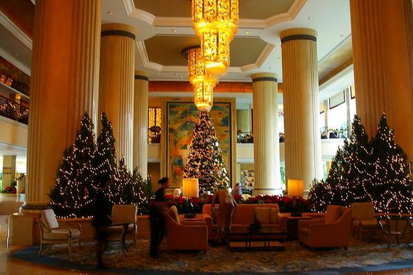 香格里拉飯店  大廳