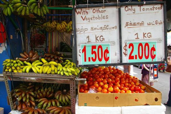 小印度  水果攤
