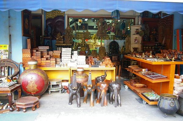 小印度  路旁的店鋪