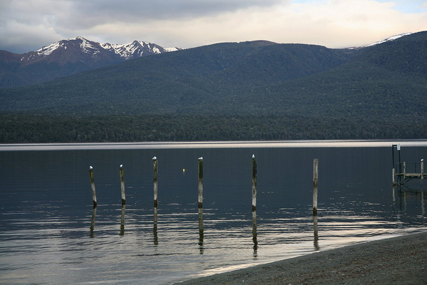 第阿諾湖畔  清晨