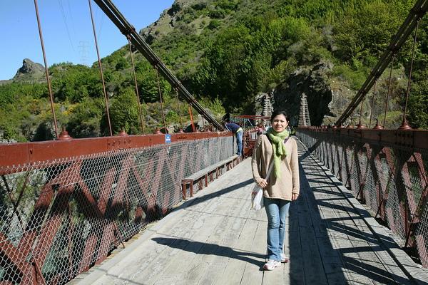 高空彈跳的橋