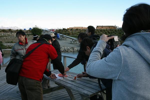 特瑞索  鮭魚養殖場