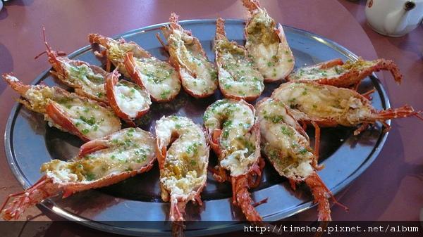 第阿諾湖  龍蝦大餐