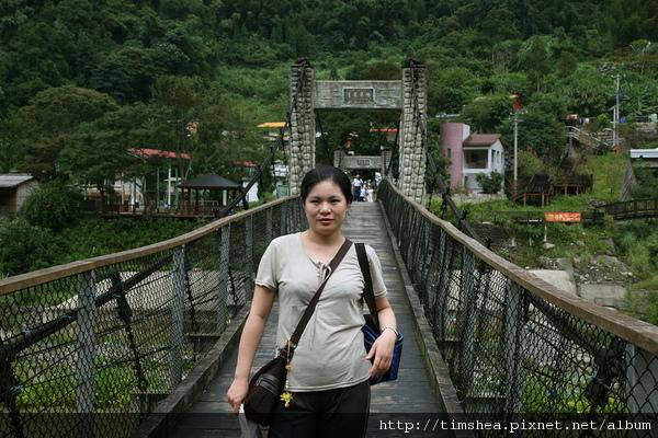 清泉部落  吊橋