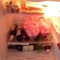 塞爆冰箱的食物