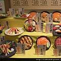 滿桌的壽司飯