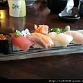 漂亮的握壽司