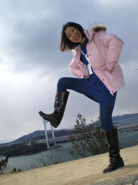 我踩瀨戶大橋.JPG