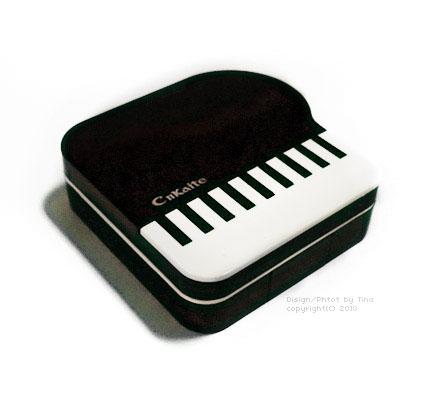 鋼琴隱形眼鏡盒