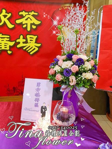 桃園甲大鴻婚禮佈置 (7)