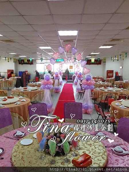 平鎮農會婚禮佈置 (8)