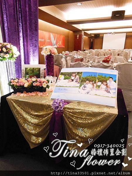茂園和漢美食館婚禮佈置 (2)