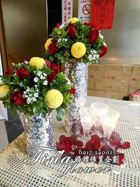 香江時尚廳婚禮佈置 (4)