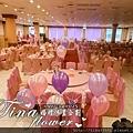 觀音大船餐廳婚禮佈置 (3)
