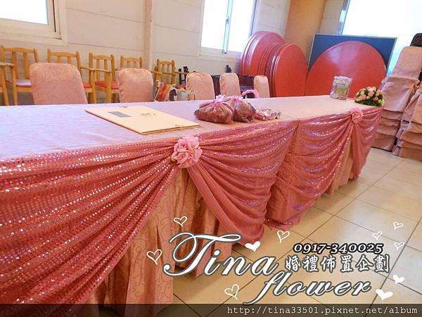 觀音大船餐廳婚禮佈置 (7)