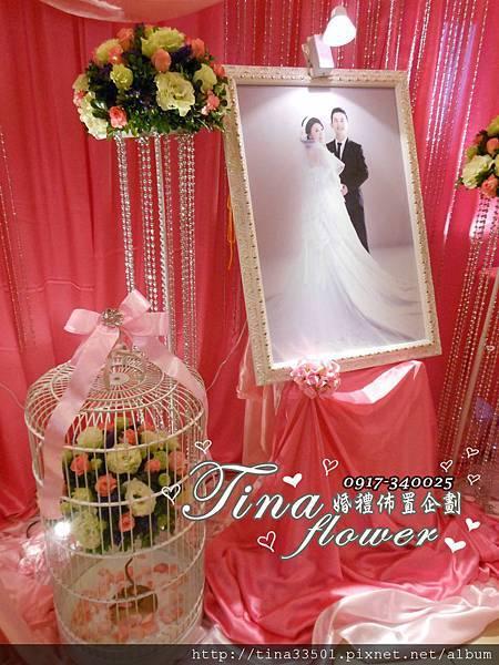 觀音大船餐廳婚禮佈置 (8)