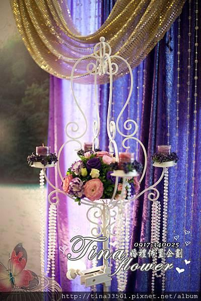 南方莊園婚禮佈置 (8)