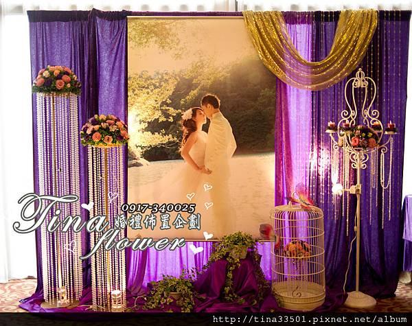 南方莊園婚禮佈置 (1)