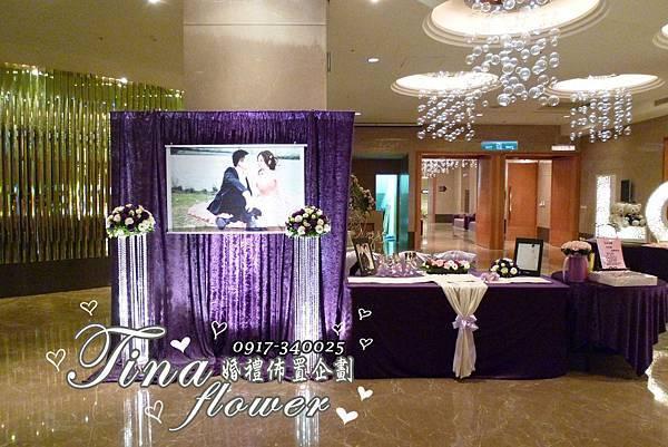 尊爵天際婚禮佈置 (2)