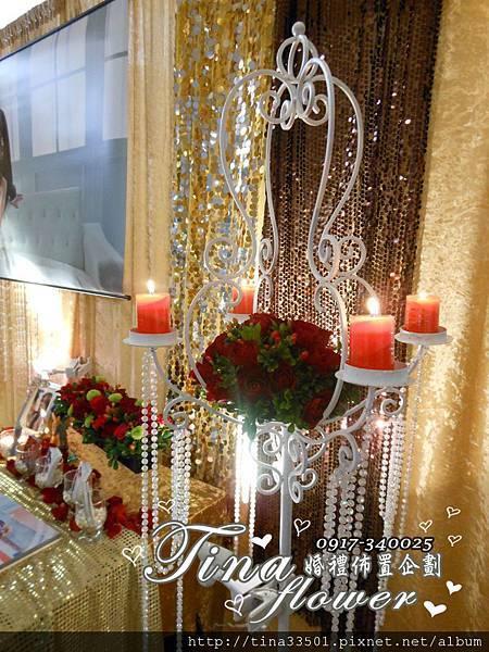 龍潭渴望餐聽婚禮佈置 (3)