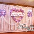 觀音鄉親好美食館婚禮佈置 (13)
