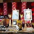 客家花布風婚禮佈置 (2)
