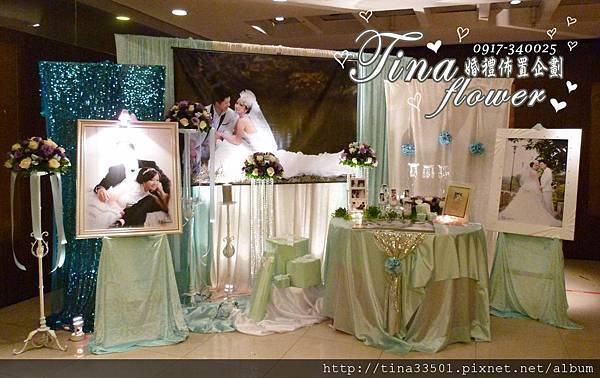 珠江美食館婚禮佈置 (2)