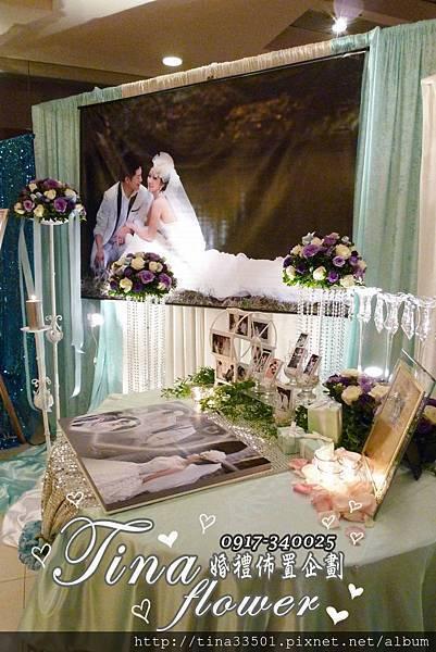 珠江美食館婚禮佈置 (3)