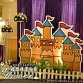 昶帝嶺餐廳童話城堡風婚禮佈置 (20)