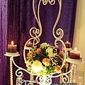 昶帝嶺餐廳童話城堡風婚禮佈置 (2)