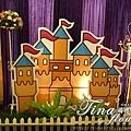昶帝嶺餐廳童話城堡風婚禮佈置 (3)