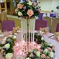 昶帝嶺餐廳童話城堡風婚禮佈置 (4)