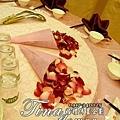 昶帝嶺餐廳童話城堡風婚禮佈置 (7)