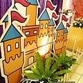 昶帝嶺餐廳童話城堡風婚禮佈置 (8)