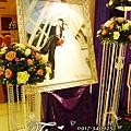 昶帝嶺餐廳童話城堡風婚禮佈置 (9)