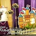 昶帝嶺餐廳童話城堡風婚禮佈置 (14)