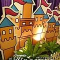 昶帝嶺餐廳童話城堡風婚禮佈置 (15)
