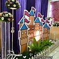 昶帝嶺餐廳童話城堡風婚禮佈置 (18)