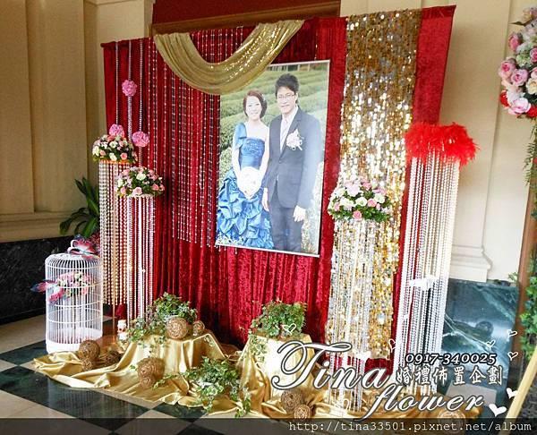 中壢儷宴國際美食館婚禮佈置 (1)
