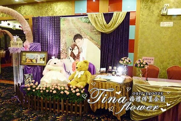 海王城婚禮佈置 (1)