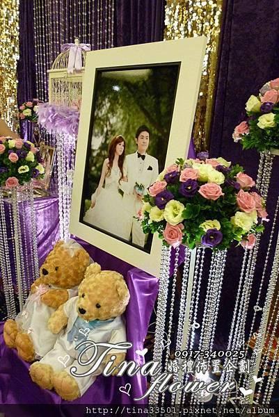 海王城婚禮佈置 (7)