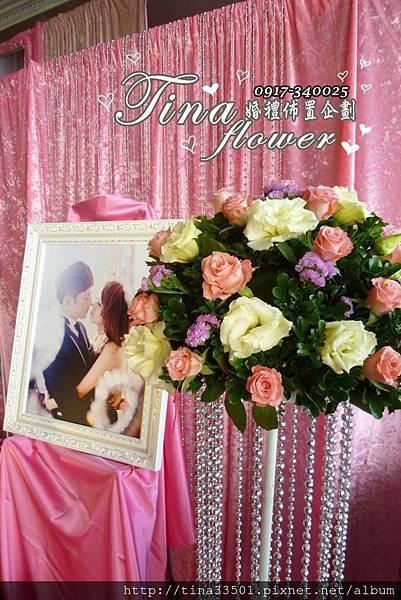 龍潭桃群餐廳婚禮佈置 (2)