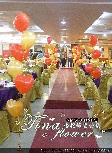 楊梅福記富貴餐廳婚禮佈置 (12)