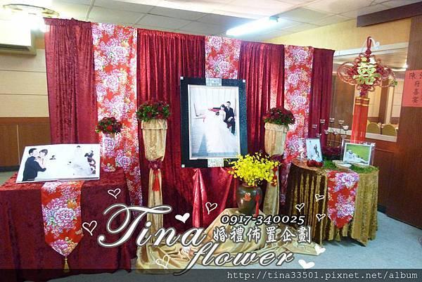 楊梅福記富貴餐廳婚禮佈置 (7)