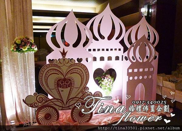 城堡風婚禮佈置 (6)