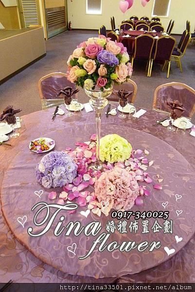 欣宴花園餐廳婚禮佈置 (16)