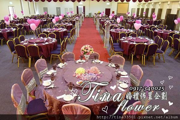 欣宴花園餐廳婚禮佈置 (19)