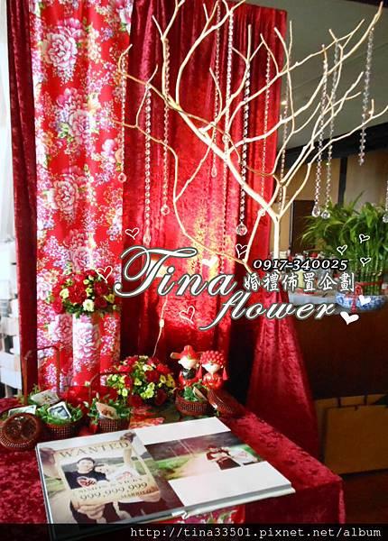 南方莊園婚禮佈置 (10)