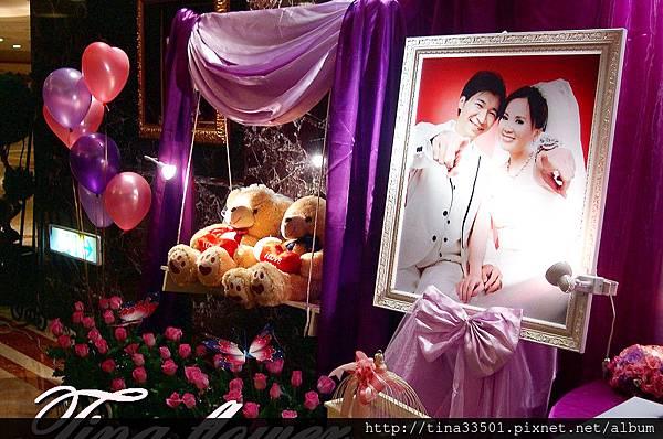尊爵大飯店婚禮佈置 (6).JPG